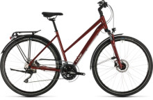 Trekkingbike Cube Touring EXC red´n´grey