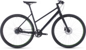 Urban-Bike Cube Hyde Race black´n´green