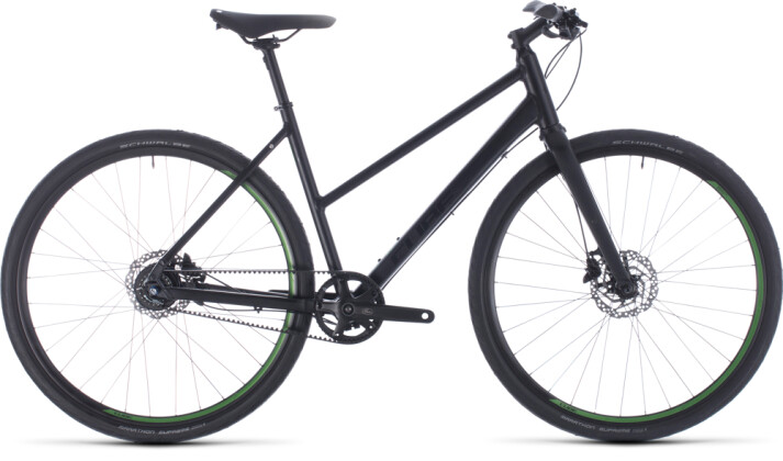 Urban-Bike Cube Hyde Race black´n´green 2020