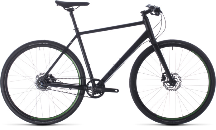 Urban-Bike Cube Hyde Race black´n´green 2020