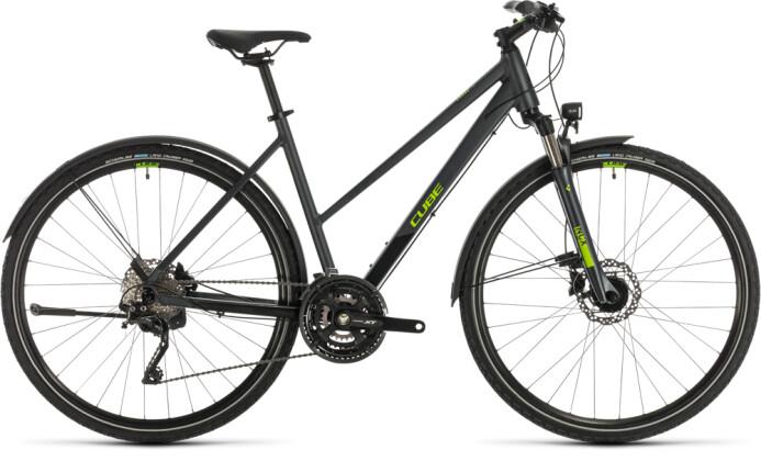 Trekkingbike Cube Cross Allroad iridium´n´green 2020