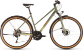 Urban-Bike Cube Nature EXC Allroad green´n´orange