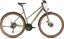 Urban-Bike Cube Nature EXC Allroad green´n´orange