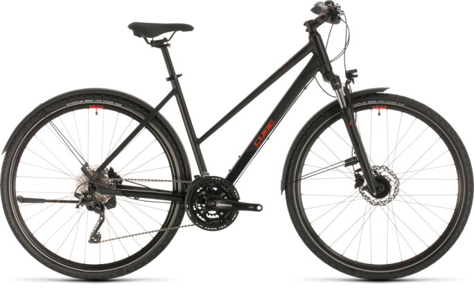 Urban-Bike Cube Nature EXC Allroad black´n´red 2020