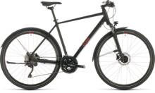 Urban-Bike Cube Nature EXC Allroad black´n´red