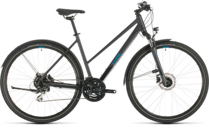 Urban-Bike Cube Nature Allroad iridium´n´blue 2020