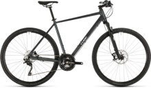 Crossbike Cube Cross EXC iridium´n´white