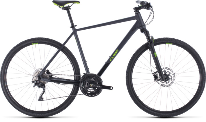Crossbike Cube Cross Pro iridium´n´green 2020