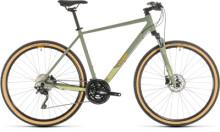 Urban-Bike Cube Nature EXC green´n´orange