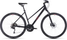 Urban-Bike Cube Nature EXC black´n´red