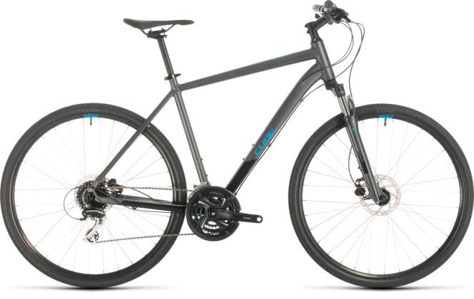 Urban-Bike Cube Nature iridium´n´blue 2020