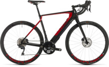 e-Rennrad Cube Agree Hybrid C:62 SL carbon´n´red