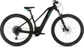 E-Bike Cube Access Hybrid EX 625 29 black´n´aqua