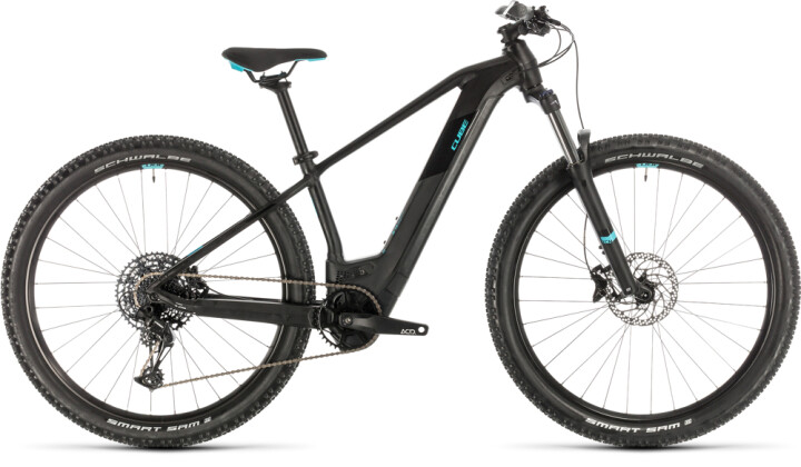 E-Bike Cube Access Hybrid EX 625 29 black´n´aqua 2020