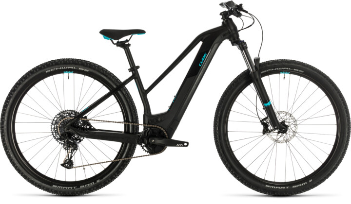 E-Bike Cube Access Hybrid EX 500 29 black´n´aqua 2020