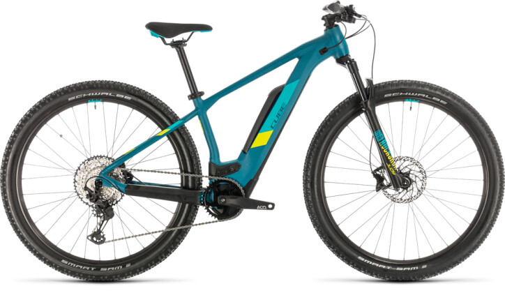 E-Bike Cube Access Hybrid Race 500 pinetree´n´lime 2020