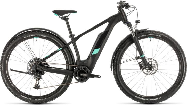 E-Bike Cube Access Hybrid Pro 500 Allroad black´n´mint 2020