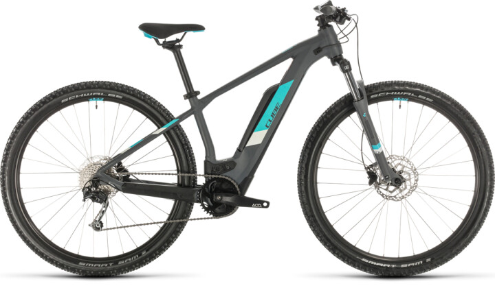 E-Bike Cube Access Hybrid ONE 500 grey´n´aqua 2020