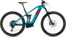 e-Mountainbike Cube Stereo Hybrid 140 HPC Race 625 29 petrol´n´red