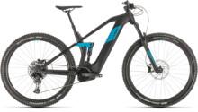 e-Mountainbike Cube Stereo Hybrid 140 HPC Race 625 29 black´n´blue