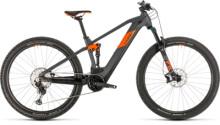 E-Bike Cube Stereo Hybrid 120 Race 625 29 grey´n´orange