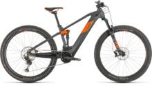 E-Bike Cube Stereo Hybrid 120 Race 500 29 grey´n´orange