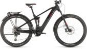 E-Bike Cube Stereo Hybrid 120 Pro 500 Allroad 29 black´n´red