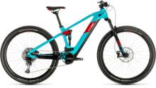 E-Bike Cube Stereo Hybrid 120 Pro 500 29 petrol´n´red