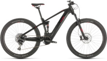 E-Bike Cube Stereo Hybrid 120 Pro 500 29 black´n´red