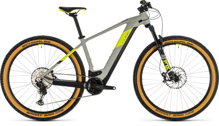 E-Bike Cube Reaction Hybrid SLT 625 29 grey´n´yellow 2020