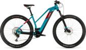 E-Bike Cube Reaction Hybrid EXC 625 29 petrol´n´red