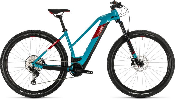 E-Bike Cube Reaction Hybrid EXC 500 29 petrol´n´red 2020