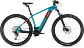 E-Bike Cube Reaction Hybrid EXC 500 29 petrol´n´red