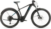 E-Bike Cube Reaction Hybrid EX 500 Allroad 29 black´n´blue