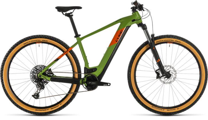 E-Bike Cube Reaction Hybrid EX 500 29 green´n´orange 2020