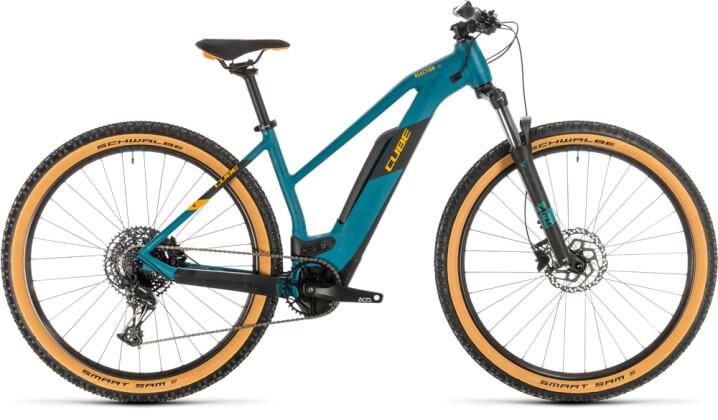 E-Bike Cube Reaction Hybrid Pro 500 pinetree´n´orange 2020