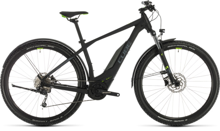 E-Bike Cube Acid Hybrid ONE 400 Allroad 29 black´n´green 2020
