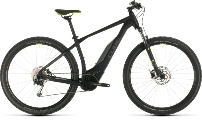 E-Bike Cube Acid Hybrid ONE 500 29 black´n´green 2020