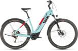 E-Bike Cube Nuride Hybrid Pro 500 Allroad glacierblue´n´red