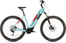 E-Bike Cube Nuride Hybrid Pro 625 glacierblue´n´red