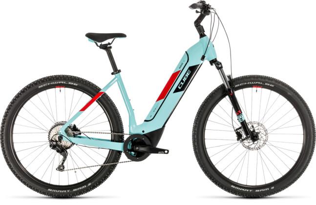 E-Bike Cube Nuride Hybrid Pro 625 glacierblue´n´red 2020