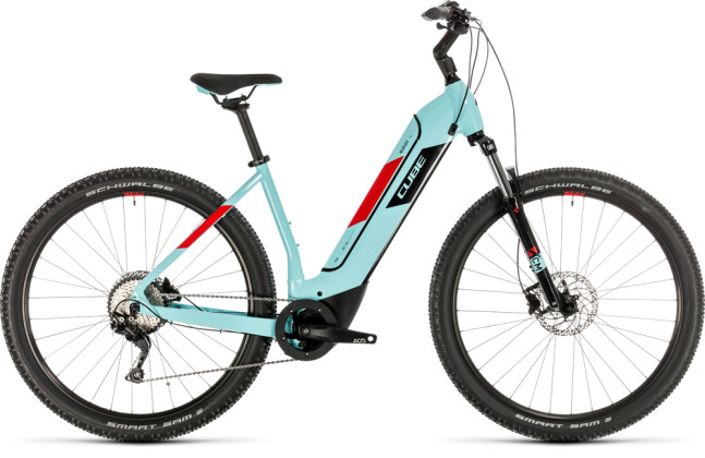 E-Bike Cube Nuride Hybrid Pro 500 glacierblue´n´red 2020