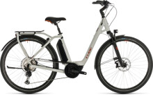E-Bike Cube Town Sport Hybrid EXC 500 grey´n´red