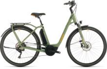 E-Bike Cube Town Sport Hybrid Pro 400 green´n´orange