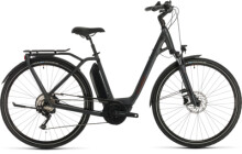 E-Bike Cube Town Sport Hybrid Pro 400 iridium´n´red