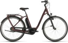 E-Bike Cube Town Hybrid EXC RT 500 red´n´black