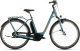 E-Bike Cube Town Hybrid Pro RT 500 blue´n´orange