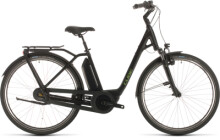E-Bike Cube Town Hybrid Pro RT 400 black´n´green