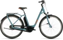 E-Bike Cube Town Hybrid Pro 500 blue´n´orange