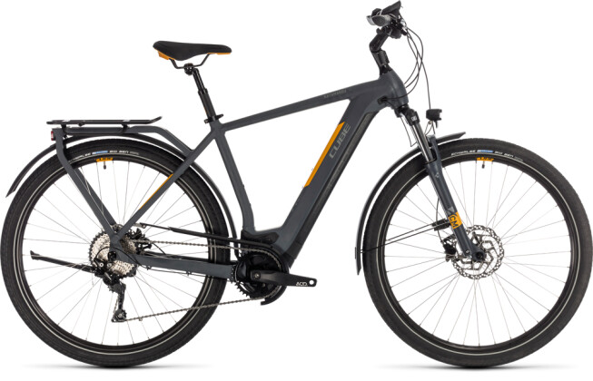 E-Bike Cube Kathmandu Hybrid Pro 500 grey´n´orange 2020